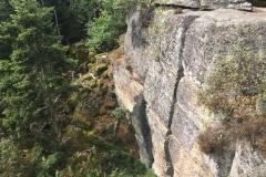 Pagan Wall of Saint Odile