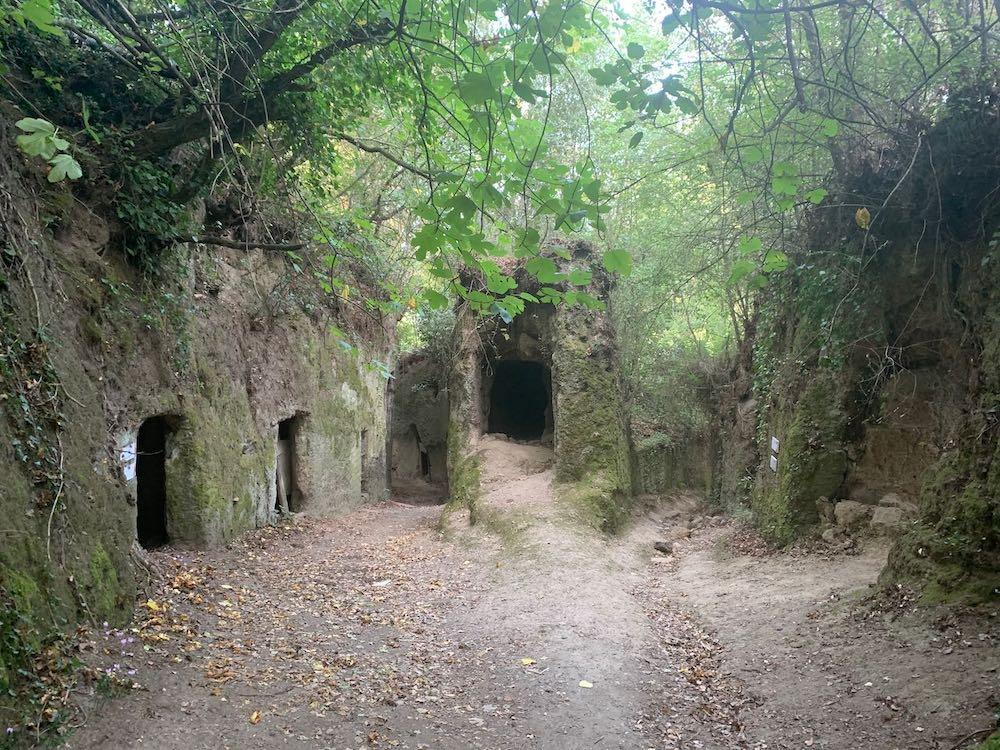 Pitigliano-Via Cava